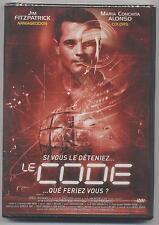 NEUF DVD LE CODE SOUS BLISTER FILM THRILLER JIM FITZPATRICK (ARMAGEDDON)