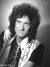 QUEEN - Brian May - print signed photo - foto con autografo stampato