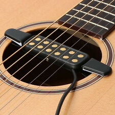 Clip-on Pickup Acoustic Guitar Bass Pickup Audio12 Hole Transducer Amplifier Hot