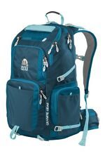 "Granite Gear Jackfish Backpack with 17"" Laptop Sleeve, Basalt/Bleumine/Stratos"