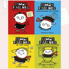 Stephan Pastis Collection Timmy Failure 4 Books Set, We Meet Again, Brand NEW