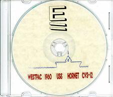 USS Hornet CVS 12 1960 Westpac CRUISE BOOK Log CD