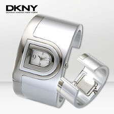 DKNY LADIE'S COLLECTION SILVER TONE CUFF LADIES WATCH NY4518