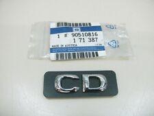 ORIGINAL OPEL Astra F CD Schriftzug 90510816 NEU