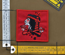 "Ricamata / Embroidered Patch Devgru ""Bloody Indian Red"" with VELCRO® brand hook"