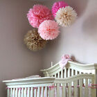 8'' Wedding Party Birthday Tissue Paper Pom Poms Flower Ball Décor Fashion EC