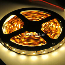 5M 3528 SMD Warm White Non-Waterproof Flexible 300LEDs Tape Roll LED Strip Light