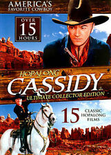 HOPALONG CASSIDY: 5 CLASSIC FEATURE FILM WESTERNS DVD EXCELLENT CONDITION