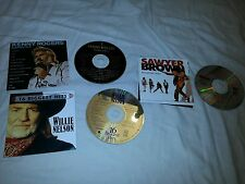 Lot of 3 Country Music CDs Willie Nelson Kenny Rogers Sawyer Brown Greatest