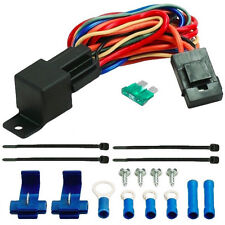 40A RELAY WIRE HARNESS DUAL 12 VOLT ELECTRIC RADIATOR FANS WIRING 40 AMP CAR FAN