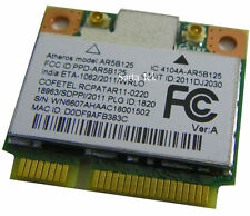 ATHEROS AR5B125 AR9485 DELL DW1506 HALF-MINI-HEIGHT WIRELESS N CARD MINICARD
