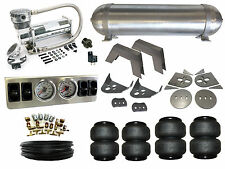 "Air Suspension System 1/4"" 86-93 Mazda B2200 B2000 Pickup 4 Path Airbag Kit FBSS"