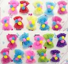 Hair Accessories - Embellished Hair Bows For Babies 10 Pairs Lot (EHASB7#)