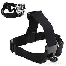 Durable Chic Head Strap Mount Belt Elastic Headband For GoPro GO PRO HD Hero 2/3