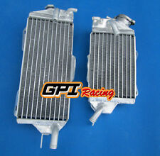 aluminum Radiator FOR Kawasaki KX125 KZ125 1990-1992 91 1990 1991 1992