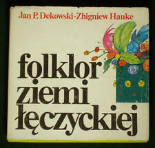 BOOK Polish Folklore regional folk dance costume song music choreography POLAND