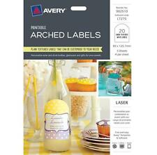 Avery Label 982511 L7272 Party Bag Kits 4 up/5 Sheets