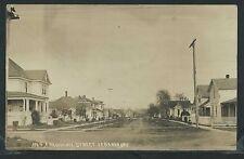 OR Lebanon RPPC 1910's RESIDENTIAL Dirt STREET SCENE Oregon Homes No. 4