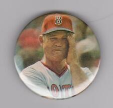 "Don Zimmer Boston Red Sox 2 1/4"" Baseball Button"