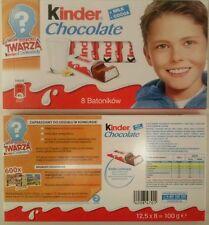 kinder Chocolate + Milk  - Cocoa