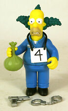 Playmates The Simpsons WOS Busted Krusty The Clown Loose Complete