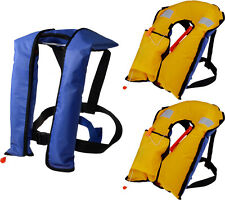 LOT 3~Automatic/Manuel Life Jacket Vest Auto Inflatable PFD Survival Wholesale