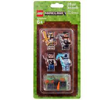 LEGO MINECRAFT 853610 MINIFIGUREN Skin Pack NEU/OVP Hüllen NEW