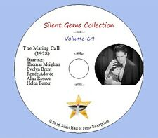 "DVD ""The Mating Call"" (1928) Rex Beach,James Cruze,Thomas Meighan, Classic Drama"