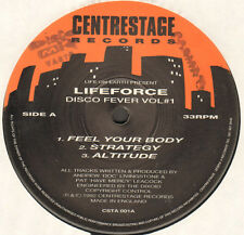LIFE ON EARTH - Disco Fever Vol#1 - Presents Lifeforce - centrestage - CSTA 001