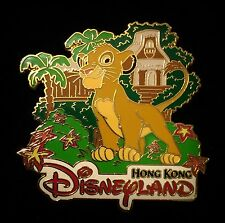 HKDL VIP Grand Opening Day LE 3000 Lion King Simba Hong Kong Disney Pin 41527