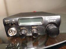 Cobra 19 Ultra III 40 Channel CB Radio Car Truck compact  Antenna Transceiver