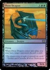 Foil EBON DRAGON From the Vault: Dragons MTG Black Creature Rare