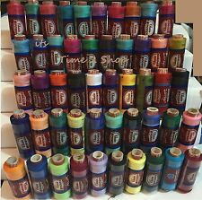 50 x New Assorted 100% Polyester Sewing Thread Spools By J&P Coats, 100 Spools!