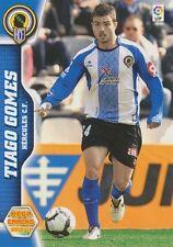 N°134 TIAGO GOMES # PORTUGAL HERCULES.CF CARD PANINI MEGA CRACKS LIGA 2011