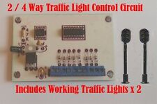 2 / 4 Way Traffic Light Control Circuit Model Railway N gauge inc Traffic lights