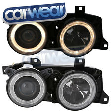 BMW E34/E32 BLACK ANGEL EYES HEAD LIGHT 520i 525i 530i 535i 540i M5 730iL 735iL