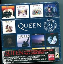 Queen - The Singles Collection Volume 4 - Sealed 2010 13 CD Single Box Set