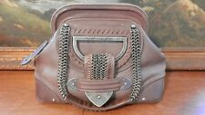 Authentic Christian Dior Jeanne Leather Satchel Bag GORGEOUS !