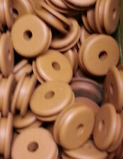 # A3-9R Pack of 15 Rubber Grommets A=3/4, B=3/16, C=1/4, D=1/8, E=9/16 in.