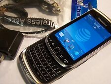 GOOD! BlackBerry Torch 9810 Camera QWERTY WIFI GSM Touch Slider AT&T Smartphone