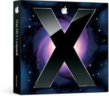 Retail Boxed Apple Mac Leopard OS 10.5 (10.5.1) w/ OS 10.5.6 ComboUpdate CD
