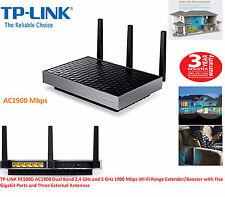 TP-LINK Universal AC1900 Wi-Fi Range Extender / Booster Five Gigabit Ports RE580