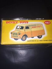 ATLAS EDITIONS - DINKY TOYS 482 BEDFORD 10CWT VAN - MINT SEALED + COA.