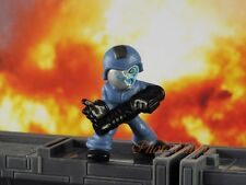 Hasbro Micro Force G I JOE Cobra Commander Z Mini Figure Toy Cake Topper K1014_V
