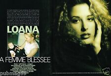 Coupure de Presse Clipping 2001 (8 pages) Loana