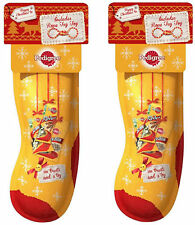 PEDIGREE Dog Christmas Stocking with Treats and a Toy 2 PACK OFFER