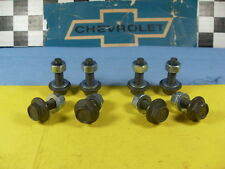 62-81 Buick GS  Pontiac GTO Oldsmobile 442 Chevy SS Set (8) SEAT bolts Track