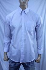 Authentic Yves Saint Laurent Men's dress cotton shirt US size 16 32-33