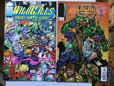 2 x WildC.A.T.s: Covert Action Teams #3 & #44 Jim Lee VFN