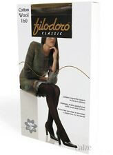 Filodoro Cotton Wool 100 den So Warm and Comfortable tights Italy Brand
